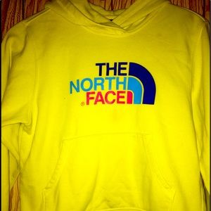 North Face sweat shirt